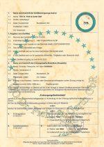 Entsorgungsfachbetrieb mit Zertifizierung - Zertifikat für Bad Oldesloe